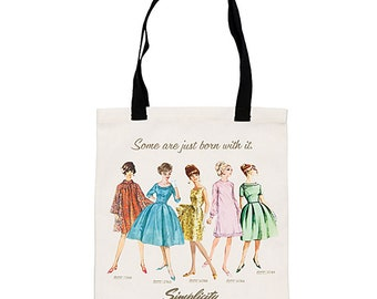 Vintage Tote - Canvas - Carry Bag - by Simplicity Creative Group - ( VINTAGETOTE )