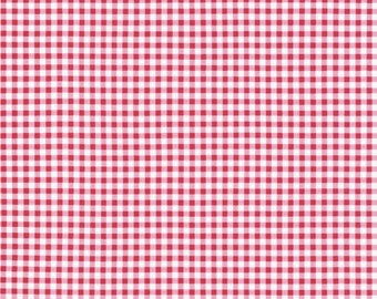 Flowerhouse Basics Collection - Pink - Gingham - Quilting Cotton Fabric - by Debbie Beaves for Robert Kaufman - ( FLH20014107 )