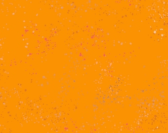 Speckled Collection - Orange - Clementine - by Rashida Coleman Hale of Ruby Star Society - Moda - ( RS5027-100M )