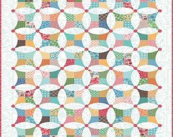 SALE - Flea Market - Quilt Boxed Kit - by Lori Holt of Bee in My Bonnet for Riley Blake Designs - ( KTB-18049 )