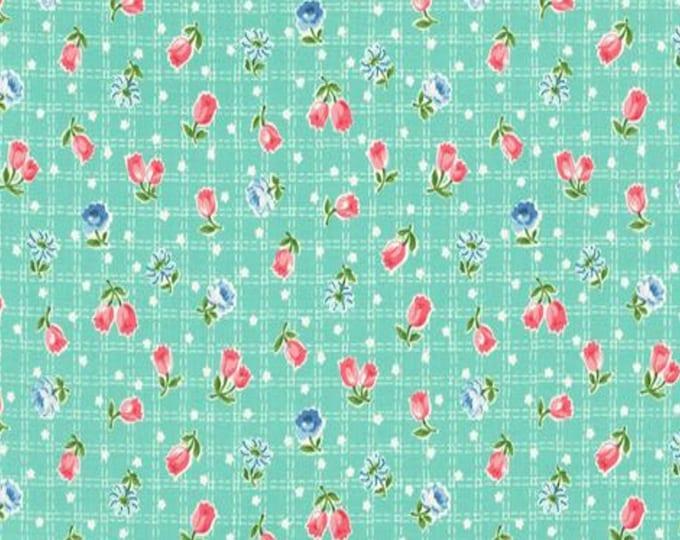 Mint - Tulips - Floral - Tulip Garden Collection - by Atsuko Matsuyama - ( AMTULIP-MINT )