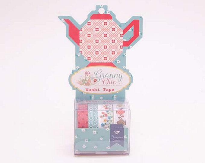 Washi Tape - Granny Chic Collection - Lori Holt of Bee in My Bonnet for Riley Blake Designs - ( ST-2649 )