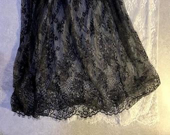 COMBO DEALS! Black White Lace Skirt Extender, Lace Shirt Extender, Dress Extender, Tulle Skirt Extender, Slip Extender
