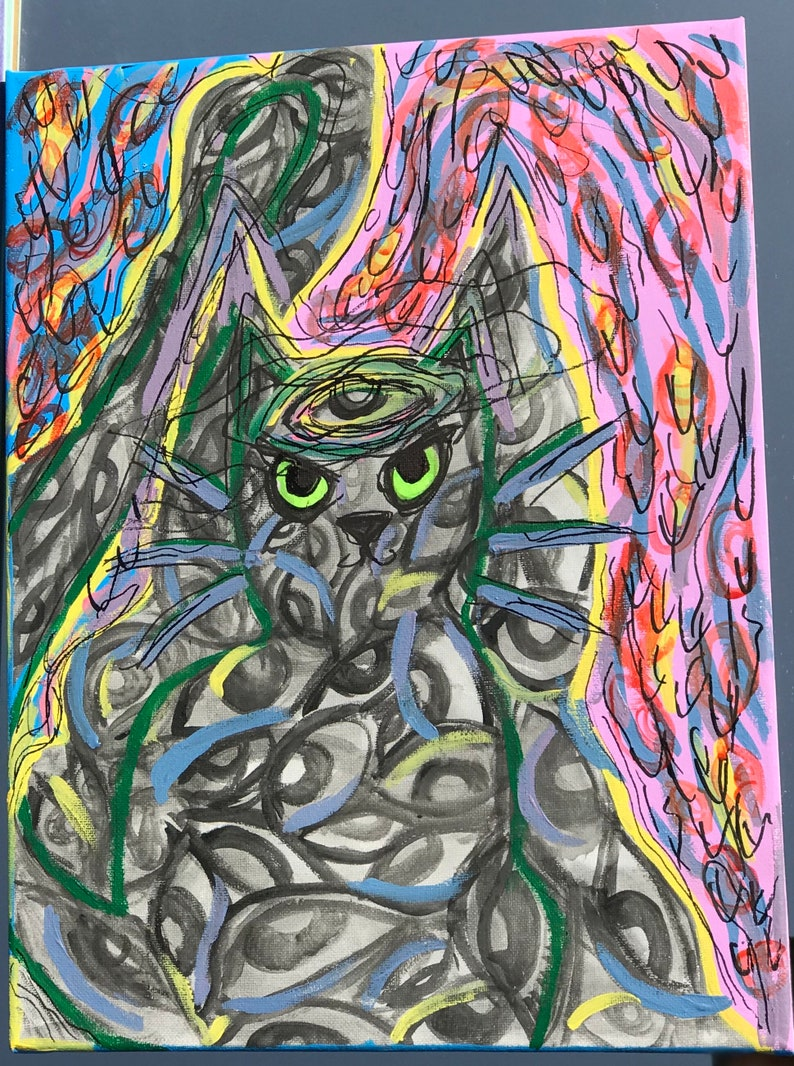 Custom Trippy Art 6x4