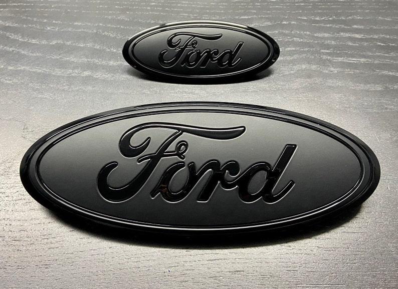 Ford Explorer 2020-2021 Black/Flat Emblem set Grille &   Etsy