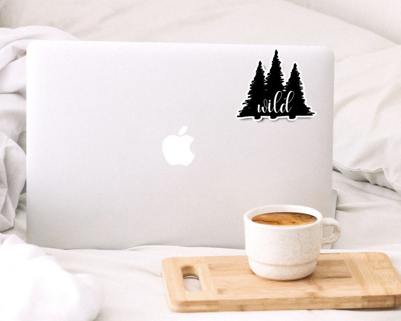 wild tree stickers VSCO stickers nature funny stickers wild outdoors laptop stickers water bottle decal sticker tumbler stickers