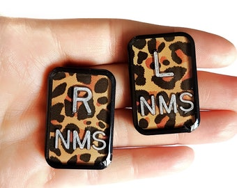 3 Sets Custom Xray Markers Rad Tech Xray Markers with Initials letters or numbers A-Z;0-9