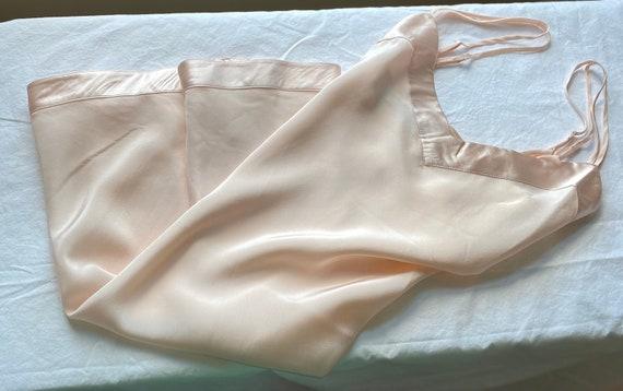 Silk Chemise Slip by Linda Hartman/ size Large/Bl… - image 1