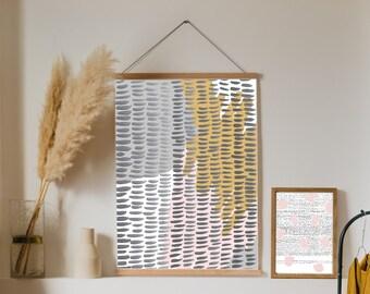 Abstract Print, Printable Artwork, Home Decor Wall Art, A4
