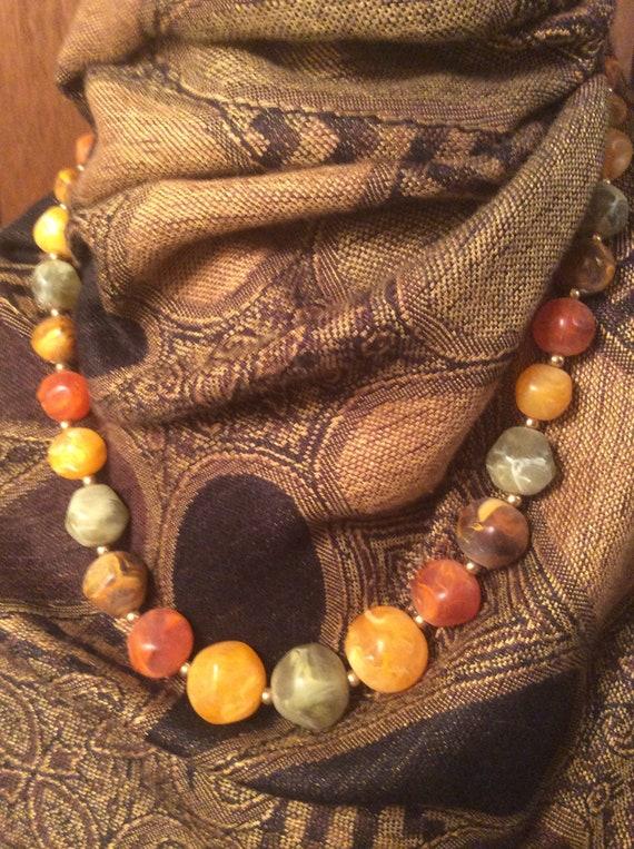 Mid Century Modern necklace