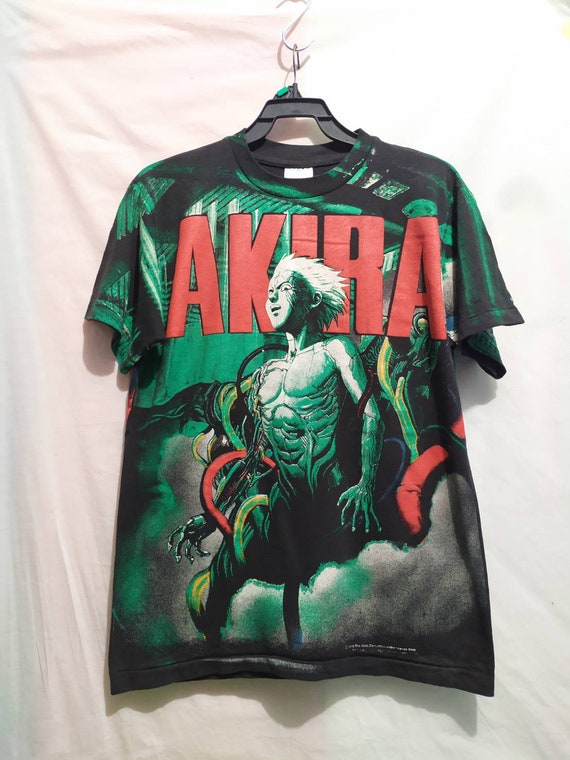 Akira t-shirt 90's brockum vintage style all over