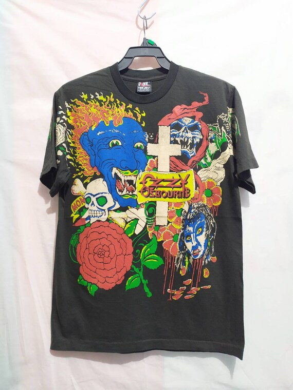 Ossy osborn t-shirt 90's Giant Vintage all over pr