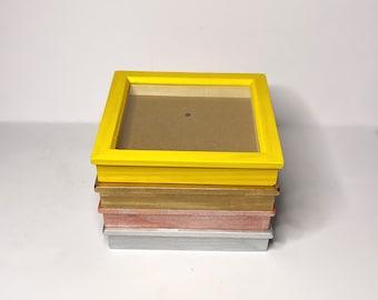 "Shadow Box Frames, 3D Box Frame, 3x3"" Shadow Box Frame, 6x6"" Shadow Box Frame, 8x8"" Shadow Box Frame, Memorabilia Shadow Box"