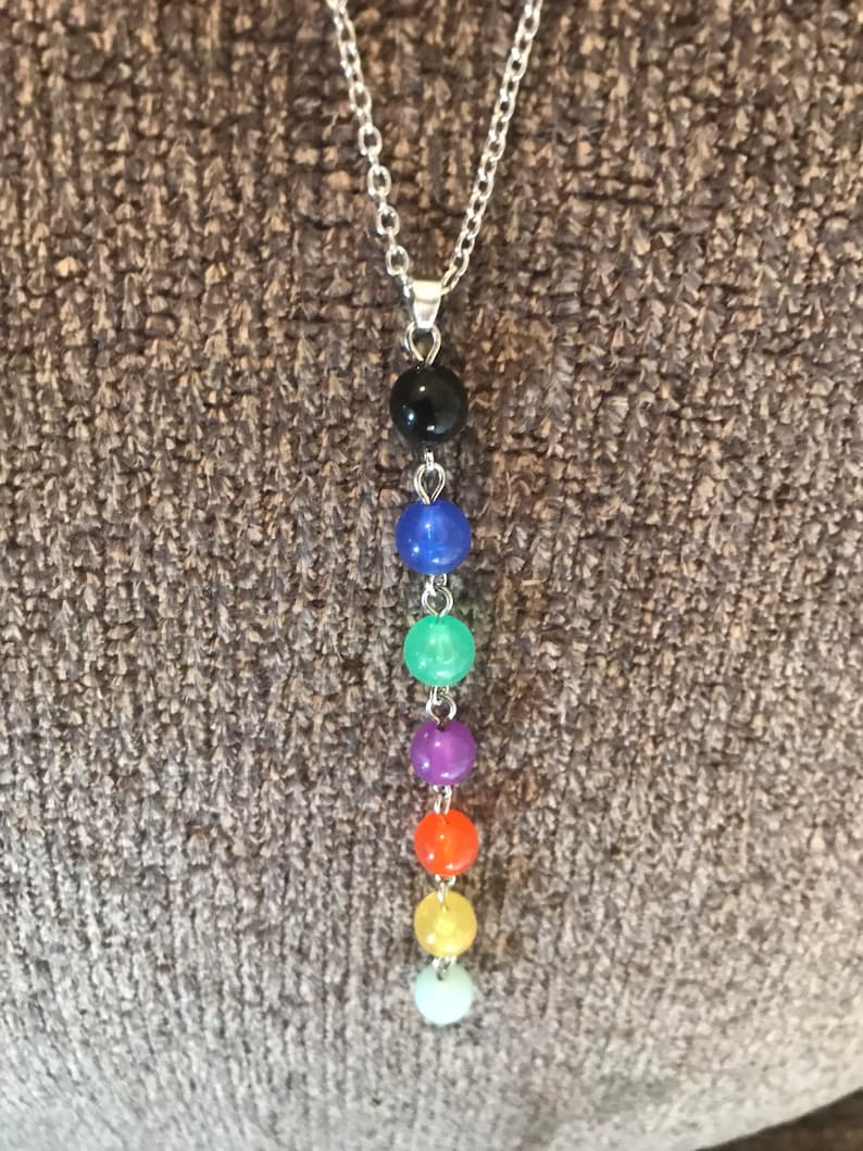 7 Chakra Bead Necklace