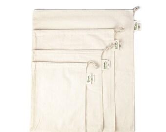 Muslin Organic Reusable Produce Bags