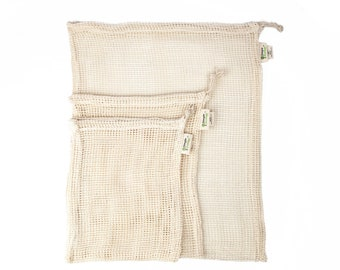 Mesh Organic Reusable Produce Bags