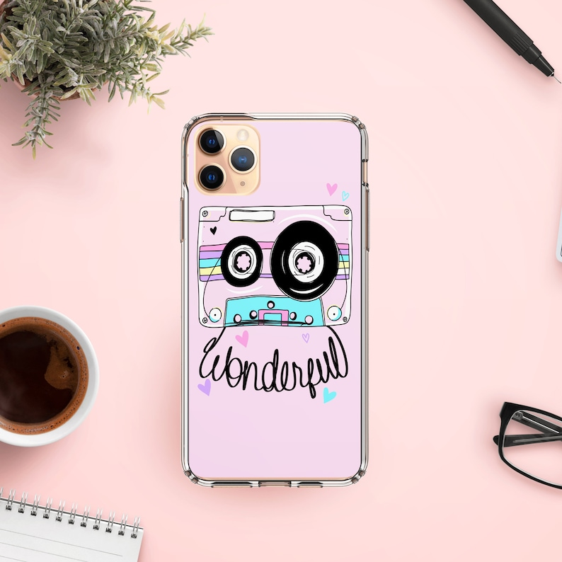8 SE S20 cassette Phone Case flexible TPU bumper ultra hybrid cell compatible for iphone 7 11 Pro Max X S10+ XR Samsung  S9