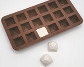 Mini Geometric Chocolate Silicone Mould / Mini Geometric Chocolate Silicone Mold