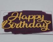 Personalised Acrylic Rectangle Paint Splash Gift Tag