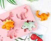 Dinosaur themed Silicone Mould/ Dinosaur themed Silicone Mold