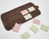 Mini Chocolate Bar Silicone Mould / Mini Chocolate Bar Silicone Mold