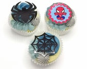 Spiderman (set of 6) Cupcake Toppers