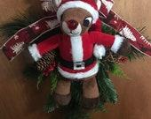 "Rudolph from ""Rudolph the Red Nosed Reindeer"" Christmas Door Hanger"