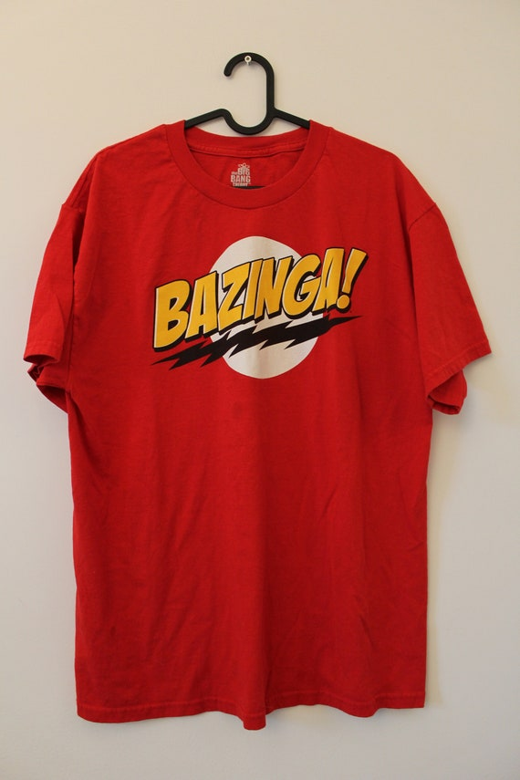 The Big Bang Theory Sheldon's Bazinga T-Shirt, Ret