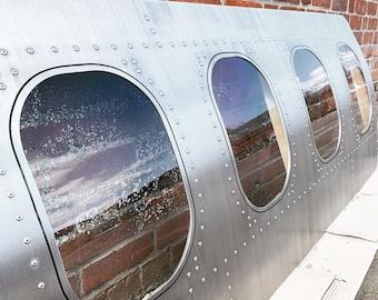 Aircraft Window Fuselage / Aviation Furniture