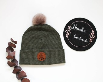 KU 54-57 cm ROSA STERNE Beanie with matching loop winter set