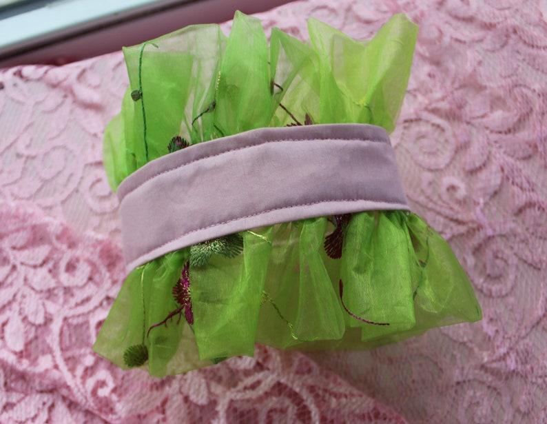 Floral Ruffle Collar