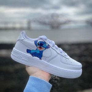 Custom Nike Air Force 1 x Stitch