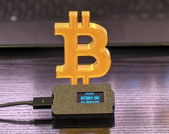 Crypto Ticker, Bitcoin real time Price, Wifi Display (support BTC, ETH, XRP, etc)