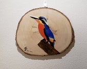 Kingfisher Stained Glass Mosaic