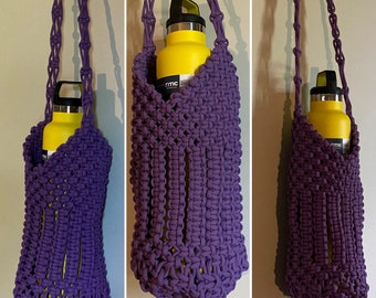 Wine Bottle Bag Hand woven #14C55 /& #14C56 Multi colored narrow stripes
