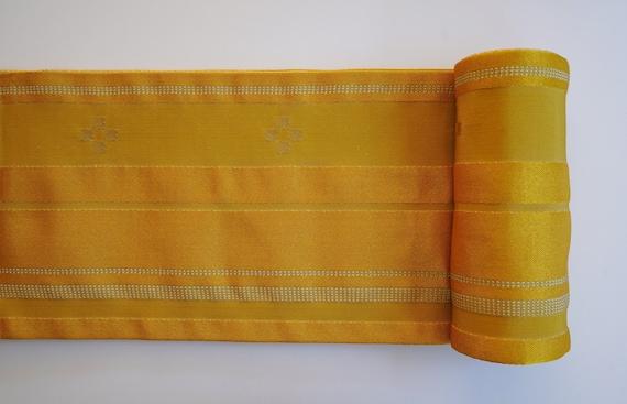 NEW Japanese Kimono Obi Belt, Yukata Obi Belt, Rev