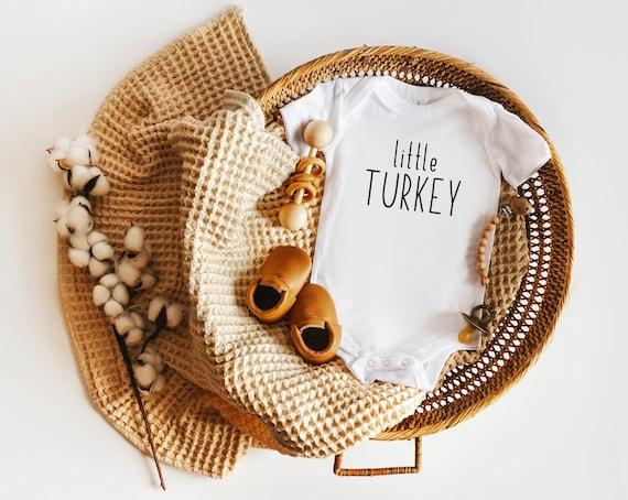 Little Turkey Baby Onesie® or Toddler T-Shirt  Thanksgiving