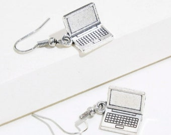 Laptop  Drop Earrings