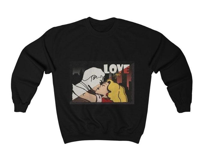 Love Comic Crewneck Sweatshirt