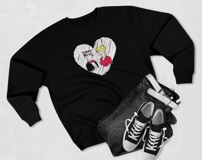 Dagwood and Blondie Adult Unisex Premium Crewneck Sweatshirt