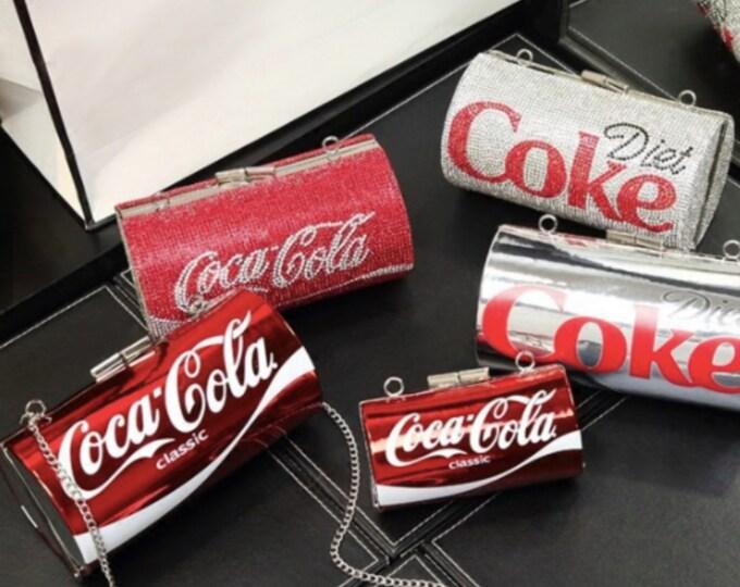 Coke Crossbody Purse Bag