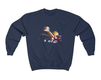CALVIN AND HOBBES | Unisex Heavy Blend Crewneck Sweatshirt