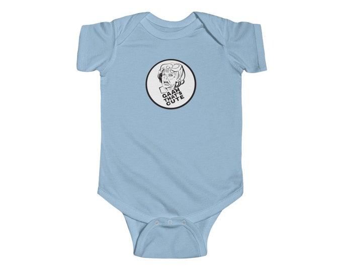 GAHH THAT'S CUTE| Infant Fine Jersey Bodysuit