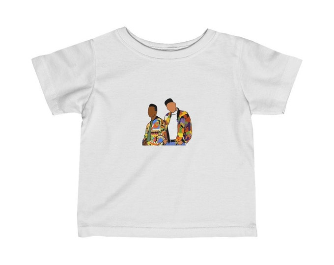THE FRESH PRINCE Infant Fine Jersey Tee