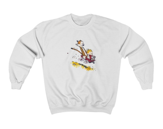 CALVIN AND HOBBES | Unisex Heavy Blend Crewneck Sweatshirt