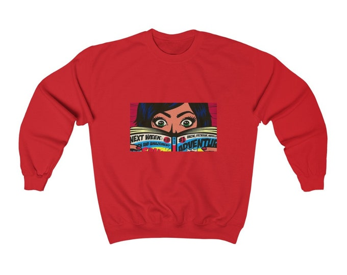 Comic Book | Crewneck Sweatshirt