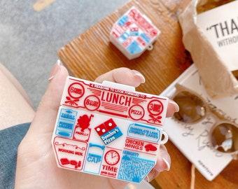 Pizza Box Airpod Case