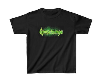 GOOSEBUMPS Kids Cotton Tee