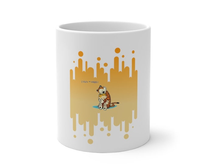 Calvin & Hobbes Color Changing Mug