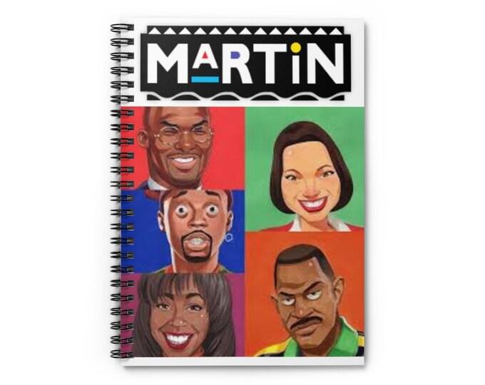 Martin TV Show Spiral Notebook - Ruled Line